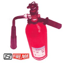 CARBON DIOXIDE TYPE PORTABLE FIRE EXTINGUISHER